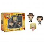 Pocket POP! Walking Dead 3 Pack Tin - Daryl, Sheriff & Teddy Bear Walker