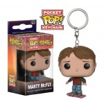 Pocket Pop! Keychain: Back To The Future - Marty On Hoverboard