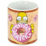 MUG - THE SIMPSONS - CAN'T TALK EATING 320ML