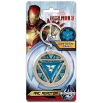 Porte-Cle - Marvel - Arc Reactor Iron Man Metal
