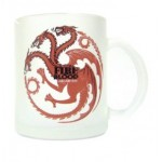 Mug - Game Of Thrones - Targaryen Transparent 320ml