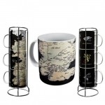 Mug - Game Of Thrones - Pack 3 Mugs Carte Westeros 320ml