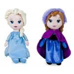 Peluche - La Reine Des Neiges - Anna & Elsa Pack 25cm