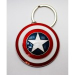 Porte-Cle - Marvel - Captain America Shield Metal