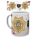 Mug - The Walking Dead - Sheriff Badge 290ml