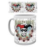 Mug - Batman Comics - Harley Quinn Logo 290ml