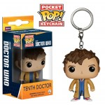Pocket Pop! Keychain: Doctor Who - 10th Doctor