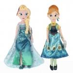 Peluche - La Reine Des Neiges: Une Fête Givrée - Anna & Elsa Fever Dolls Pack 25cm