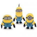 Peluche - Minions - Pack Bob, Stuart & Kevin 14cm