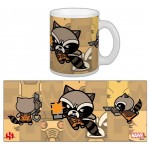 Mug - Gardiens De La Galaxie - Rocket Raccoon Kawai 300ml