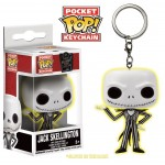 Pocket Pop! Keychain: Disney - Jack Skellington GITD