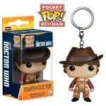 Pocket Pop! Keychain: Doctor Who - 4th Doctor