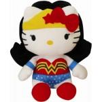 Peluche - DC Comics - Hello Kitty Wonder Woman 17cm