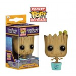 Pocket Pop! Keychain: Guardians Of The Galaxy - Baby Groot Teal Pot