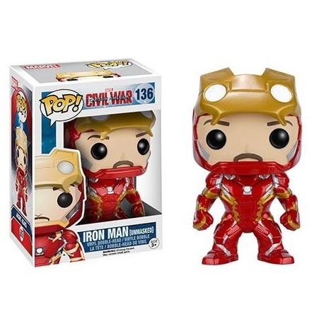 Pop! Marvel: Captain America 3 - Unmasked Iron Man