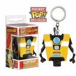 Pocket Pop! Keychain: Borderlands - Clap Trap