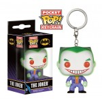 Pocket Pop! Keychain: DC Comics - Joker GITD