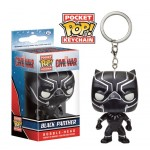 Pocket Pop! Keychain: Captain America 3 - Black Panther