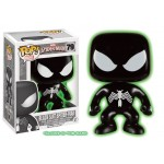 Pop! Marvel: Black Suit Spiderman GITD