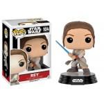 Pop! Star Wars: Rey With Lightsaber