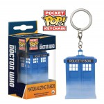 Pocket Pop! Keychain: Doctor Who - Materialising Tardis