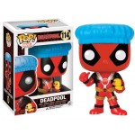 Pop! Marvel: Deadpool - Deadpool With Shower Cap Limited