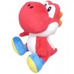Peluche - Super Mario - Yoshi Rouge 17cm