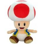 Peluche - Super Mario - Toad Rouge 15cm