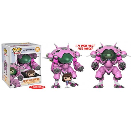 Pop! Games: Overwatch - D.Va
