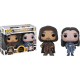 Pop! Movies: Lord Of The Rings - Aragorn & Arwen 2-Pack Limited
