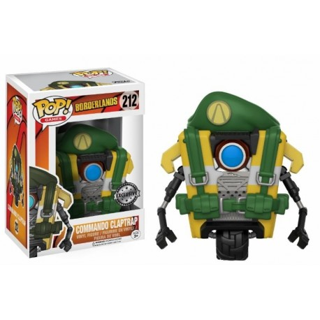 Pop! Games: Borderlands - Clap Trap Commando Limited
