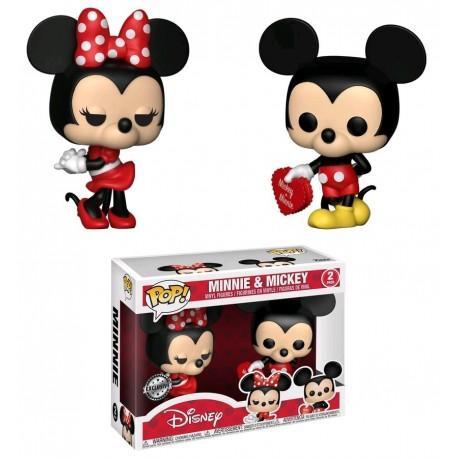 Pop! Disney: Minnie & Mickey 2-Pack Limited