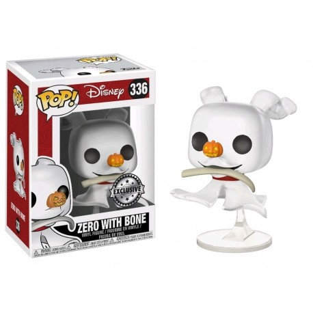Pop! Disney: Nightmare Before Christmas - Zero With Bone Limited
