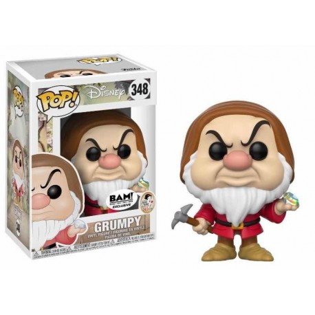 Pop! Disney: Snow White - Grumpy With Diamond Pick Limited