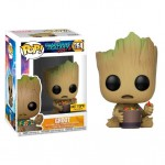Pop! Marvel: Guardians Of The Galaxy Vol. 2 - Groot With Candy Bowl Limited