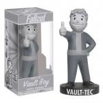 Bobblehead 18cm: Fallout - Vault Boy Black & White