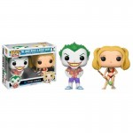 Pop! Heroes: Beach Joker & Harley Quinn Limited 2-Pack