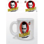 MUG - BIG BANG THEORY - RED SHELDON BAZINGA! 315ML