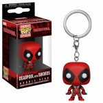 Pocket Pop! Keychain: Deadpool - Deadpool With Swords