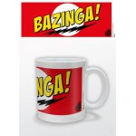 MUG - BIG BANG THEORY - RED BAZINGA! 315ML