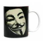 Mug - V Pour Vendetta - Mask 320ml
