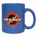 MUG - BIG BANG THEORY - BAZINGA! BLEU 320ML