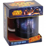 MUG - STAR WARS - LIGHT SABER DUEL 3D 300ML