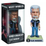 Bobblehead 18cm: Sons Of Anarchy - Clay Morrow