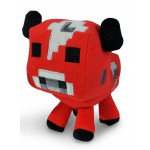 Peluche - Minecraft - Mooshroom Cow 17cm